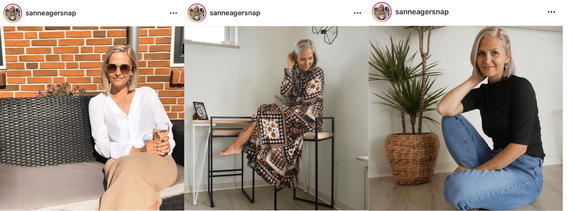 Sanne Agersnap influencer